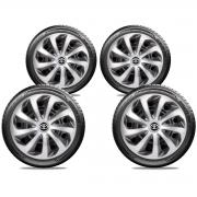 Jogo Calota Elitte Aro 15 Toyota Etios Corolla E5701J