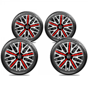 Jogo Calota Elitte Triton Nissan Versa March Aro 14 E4503J