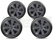 Jogo Calota Grafite Aro 14 Toyota Etios Sedan Hatch G461GFJE