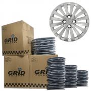 Lote Kit De Calotas Para Revenda Com 12pçs Aro 14 Grid G117CAk