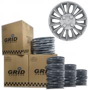 Lote Kit De Calotas Para Revenda Com 12pçs Aro 14 Grid G211k