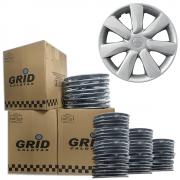 Lote Kit De Calotas Para Revenda Com 12pçs Aro 14 Grid G450k