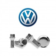 Parafusos Roda Cromado Volkswagen Gol Voyage Parati Up Saveiro
