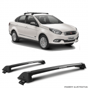 Rack De Teto New Wave Eqmax Fiat Grand Siena 2012 a 2018 Santo Andre - ABC - SP
