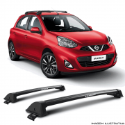 Rack De Teto New Wave Eqmax Nissan March  2011 a 2018 Santo Andre - ABC - SP