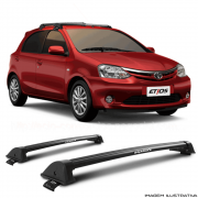 Rack De Teto New Wave Eqmax Toyota Etios hatch Santo Andre - ABC - SP