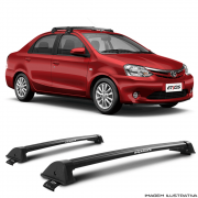Rack De Teto New Wave Eqmax Toyota Etios Sedan Santo Andre - ABC - SP