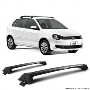 Rack De Teto New Wave Eqmax Volkswagen  Polo Hatch 2003 a 2014 Santo Andre - ABC - SP