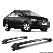 Rack De Teto New Wave Eqmax Volkswagen  Polo Sedan 2003 a 2014 Santo Andre - ABC - SP