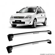 Rack De Teto Prata Wave Eqmax Chevrolet Gm Corsa 2002 a 2014  a Santo Andre - ABC - SP