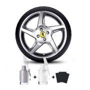 Tinta Tira Risco Para Reformas de rodas de Liga Prata Alumínio Santo Andre - ABC - SP