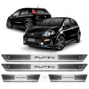 Soleira Aço Inox Fiat Punto Attractive 2014 2015 2015 2017