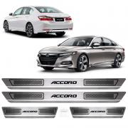 Soleira Aço Inox Honda Accord 2010 2011 2013 2014 2015 2016