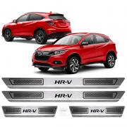 Soleira Aço Inox Honda New Hrv 2015 2016 2017 2018 2019