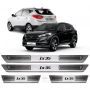 Soleira Aço Inox Hyundai Ix35 2015 2016 2017 2018 2019