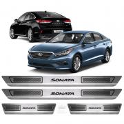 Soleira Aço Inox Hyundai Sonata 2015 2016 2017 2018 2019