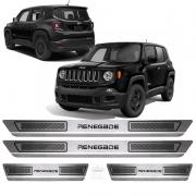 Soleira Aço Inox Jeep Renegade 2015 2016 2017 2018 2019