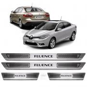 Soleira Aço Inox Renault Fluence 2014 2015 2016 2017 2018
