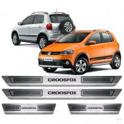 Soleira Aço Inox Volkswagen Crossfox 2013 2014 2015 2016