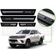 Soleira Adesivada Gtech High Line Toyota Hilux Sw4