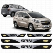Soleira Resinada Personalizada Para Chevrolet Spin