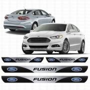 Soleira Resinada Personalizada Para Ford Novo New Fusion