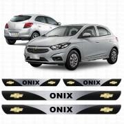 Soleira Resinada Personalizada para GM Chevrolet Onix