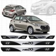 Soleira Resinada Personalizada para Hyundai HB20
