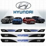 Soleira Resinada Personalizada para Hyundai Hb20 hb20s i30 Tucson