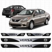 Soleira Resinada Personalizada para Nissan Versa