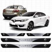 Soleira Resinada Personalizada Para Renault Fluence