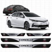 Soleira Resinada Personalizada para Toyota novo Corolla