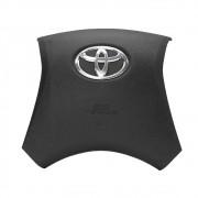 Tampa de Volante Capa Airbag Toyota Hilux 2011 A 2015