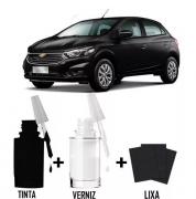 Tinta Tira Risco Automotivo para toda a linha GM Preto