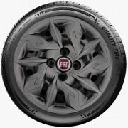Calota Grafite Aro 14 Fiat Argo Cronos 2018 2019 G292Gft