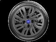 Calota Grafite Aro 14 Ford Nova Ka Fiesta Tocam Focus G344Gft