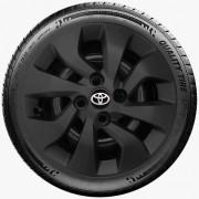 Calota Preto Fosco Aro 14 Toyota Etios Fosco G373Pf
