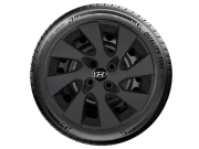 Calota Preto Fosco Aro 15 Hyundai Novo Hb20S G195pf