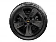 Calota Unitária Preto Fosco Aro 14 Chevrolet Onix Hatch Plus 2020 G376pf