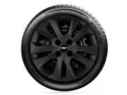 Calota Unitaria Preto Fosco Aro 15 Chevrolet Onix 2020 G377PF