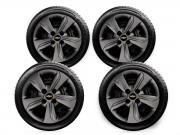 Calota Preto Fosco Jogo 4pçs Chevrolet Onix 2020 Aro 14 G376PFJ