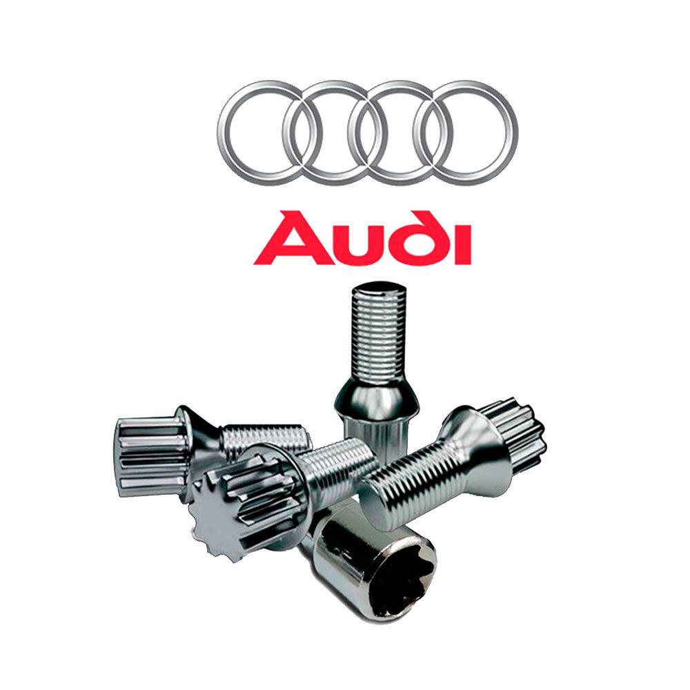 Porcas Anti Furto Cromada Audi A3