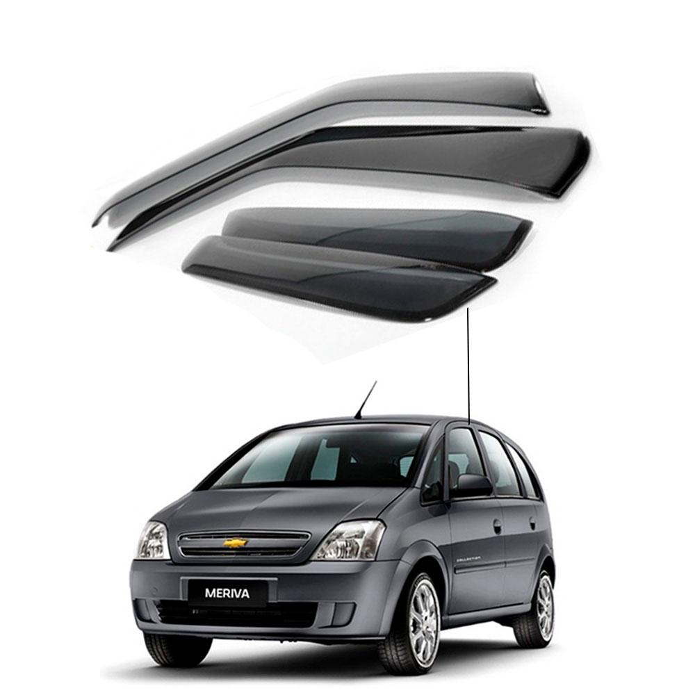 Calha De Chuva Chevrolet Gm Meriva 2008 2009 2010 2011 2012