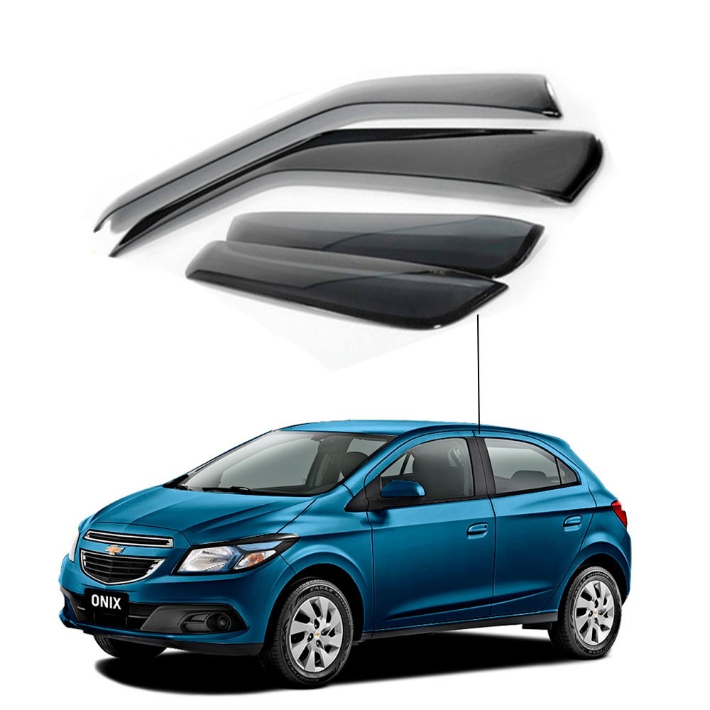 Calha De Chuva Chevrolet Gm Onix 2014 A 2019 Inativo