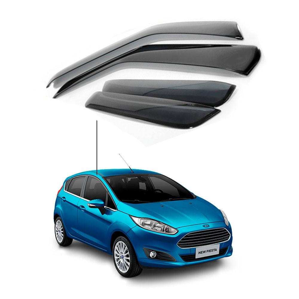 Calha De Chuva Ford New Fiesta Hatch 2012 A 2018 (Inativo)