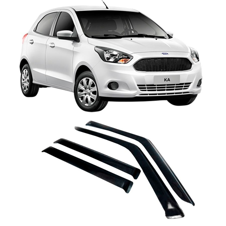 Calha De Chuva Ford New Ka Hatch Sedan   Portas Santo Andre