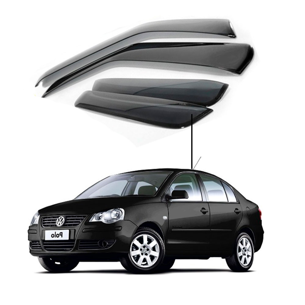 Calha De Chuva Volkswagen Polo Sedan 2003 2006 2008 2010 2012 2014