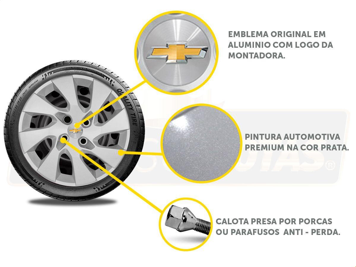 Calota Aro 14 Gm Onix Prisma 2019 2020 G133E