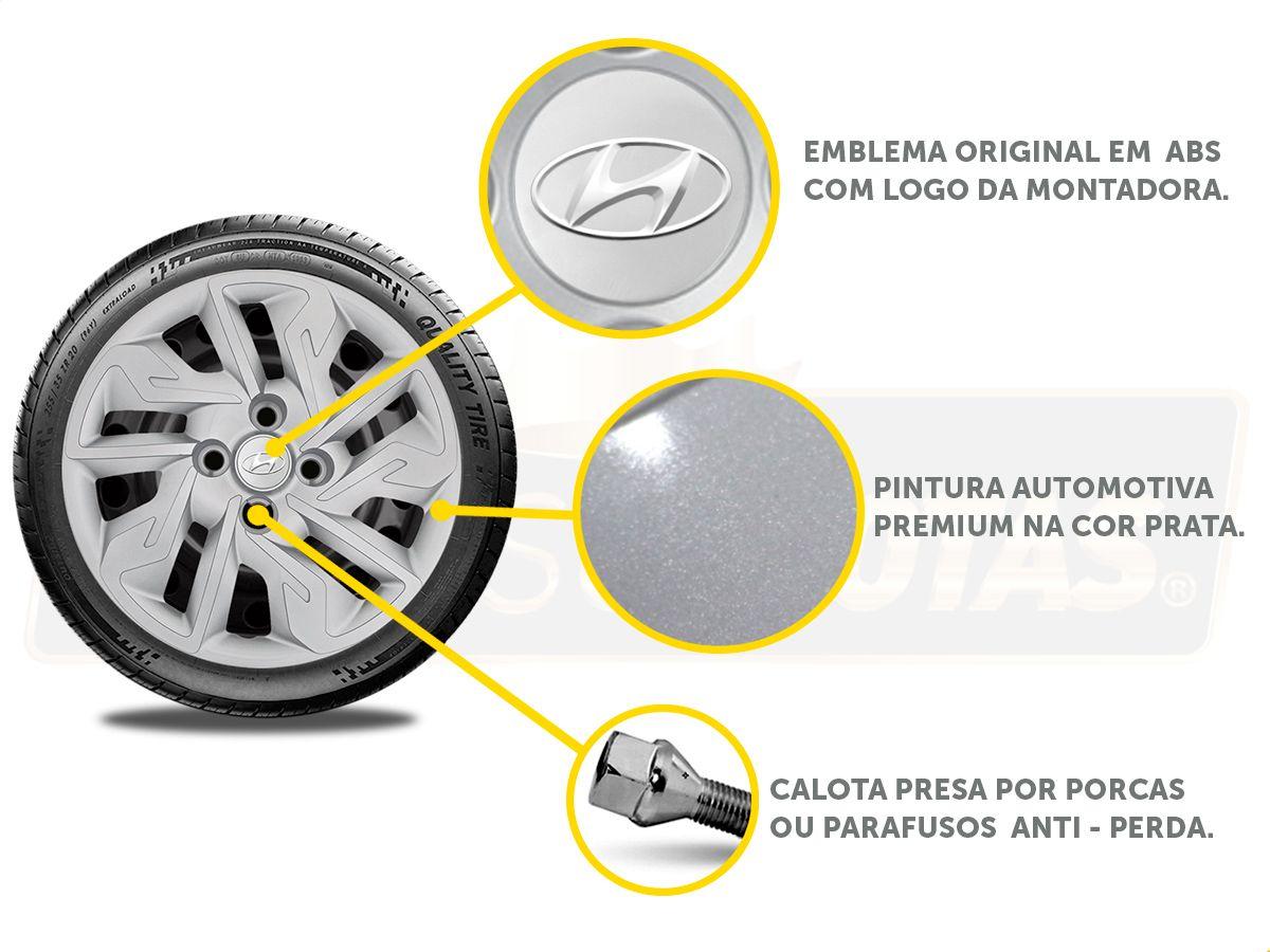 Calota Aro 14 Hyundai Hb20 Hatch Sedan 2013 2020 G292E