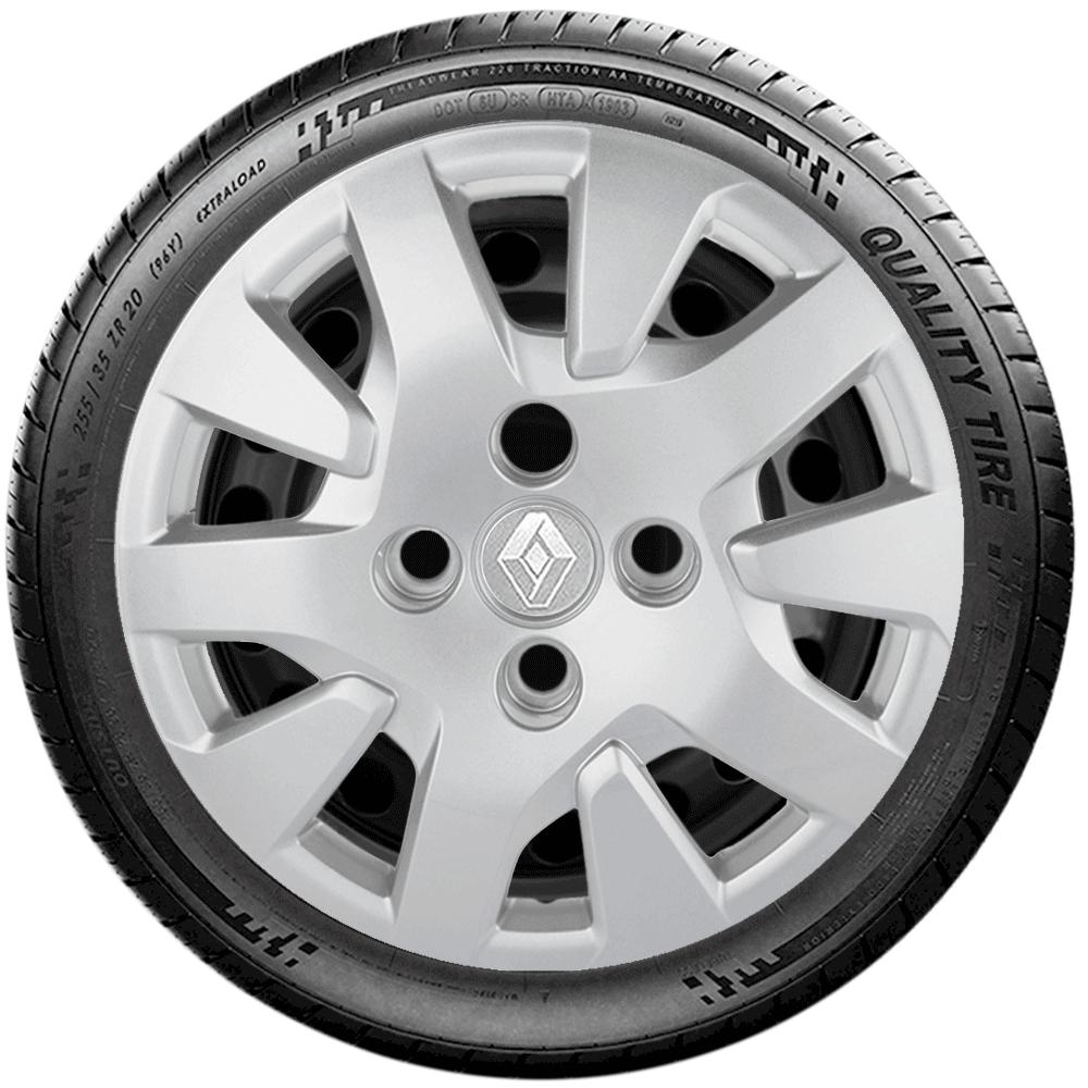 Calota Aro 14 Renault Novo Logan Sandero G343